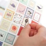 Набор наклеек /Floral, stiker set/