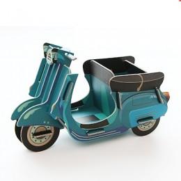 """Коробочка, подставка для канцелярии """"Мотоцикл"""""""