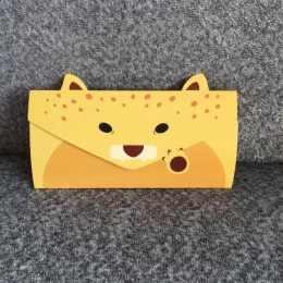 "Конверт-открытка ""Леопард"""
