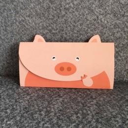 """Конверт-открытка """"Свинка"""""""